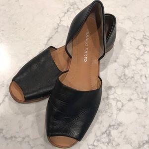 Franco Sarto Open Toe Flat